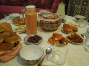 Iftar in Morocco, photo credit: Andradene Lowe.