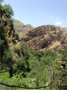 The Tajik Scenery Route.