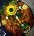 """""""Tumpeng"""" a traditional Javanese platter, photo credit: Sarah Wall."""