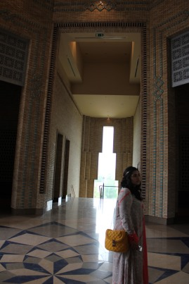 During one of our weekend excursions, Noureen, Okxana, Annabelle and I took a visit to the Ismaili Centre in Dushanbe.