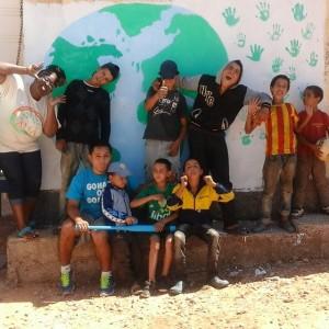 Tarmilaat ambassadors and kids.