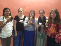 Who knew that Mango Gelati ice-cream would be so popular on the island?