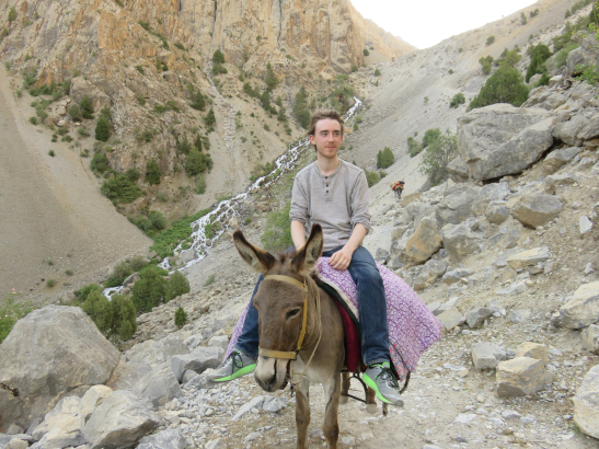 John Curran, 2015 Summer Service Intern in Tajikistan