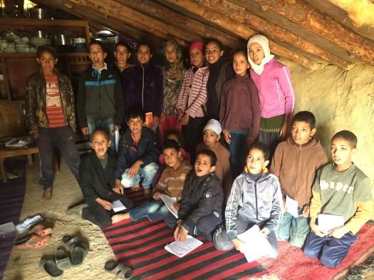 Students of Tarmilaat Village