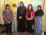 Kitty Thuermer and some of our partners in Zanzibar, Tanzania.
