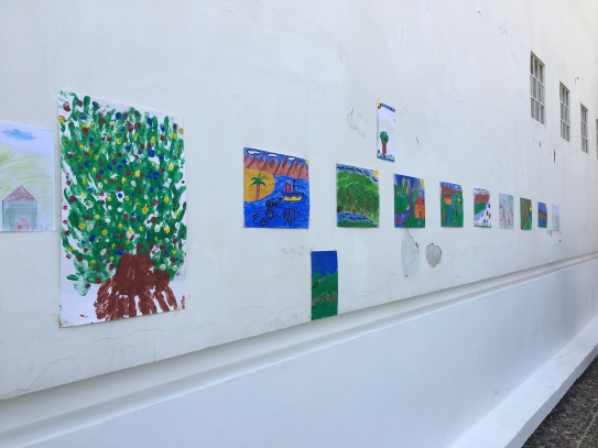A student gallery to commemorate Earth Day 2016 at the Azrou Center!